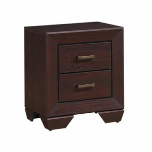 Angus 2 Drawer Nightstand by Millwood Pines