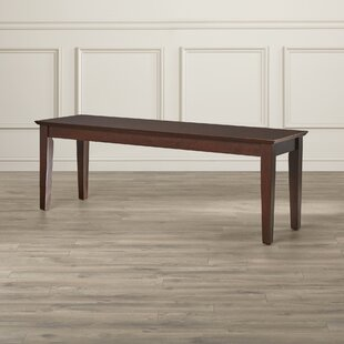 Smyrna Wood Bench by Charlton Home