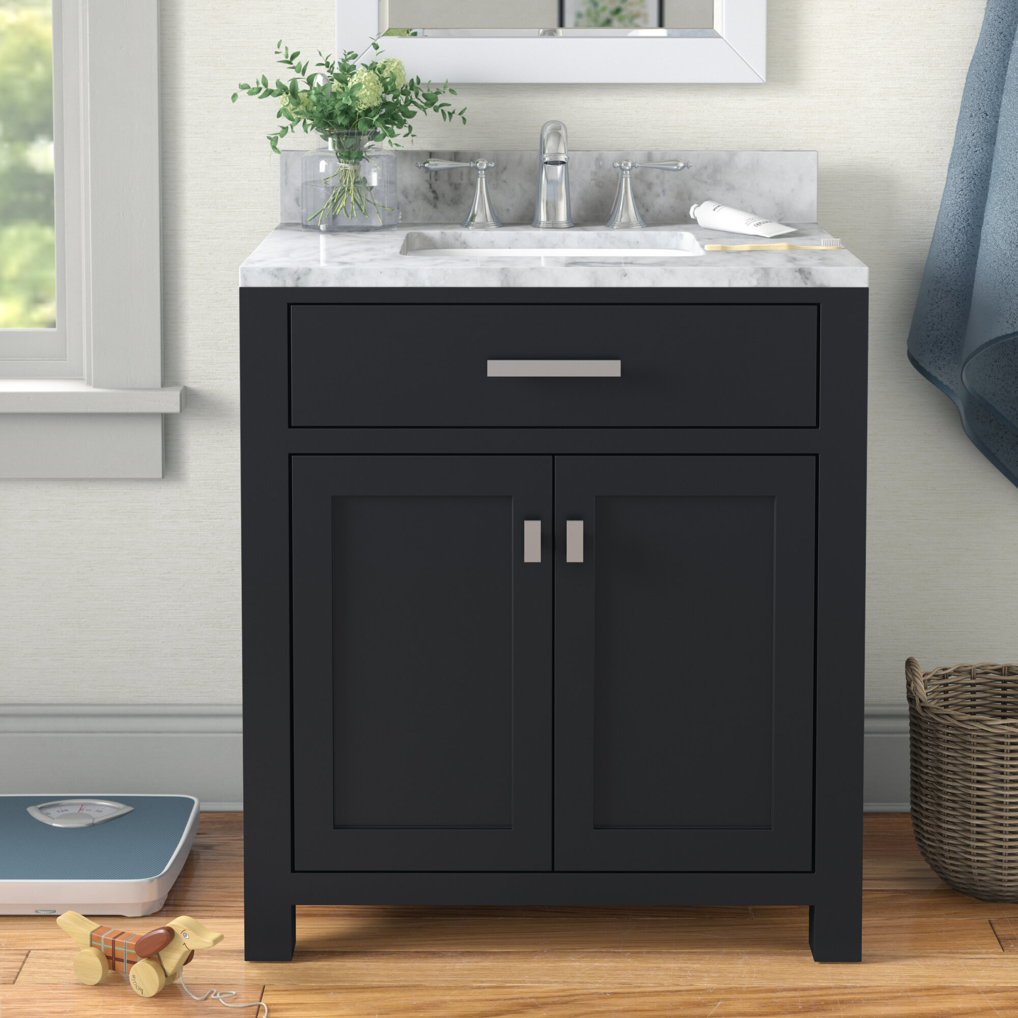 Solid Wood Bathroom Vanities Free Shipping Over 35 Wayfair