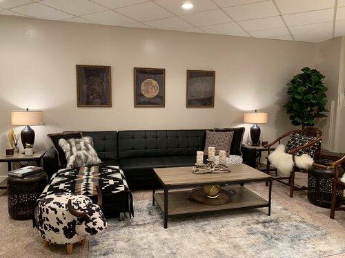 200+ Modern Rustic, Living Room Design Ideas | Wayfair