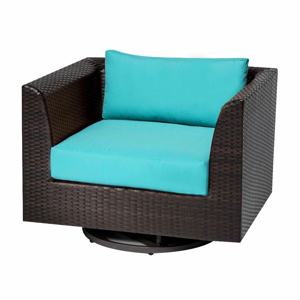 Tegan Swivel Patio Chair With Cushions