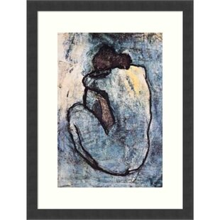 Wall art artwork painting HD Rolled Blue Nude by Pablo PicassoCanvas