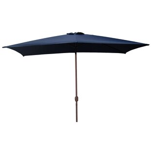 Northlight Seasonal 10' X 6.5' Rectangular Market Umbrella