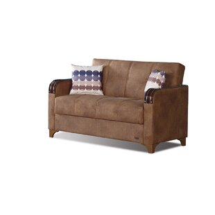 Meaney Leather Loveseat
