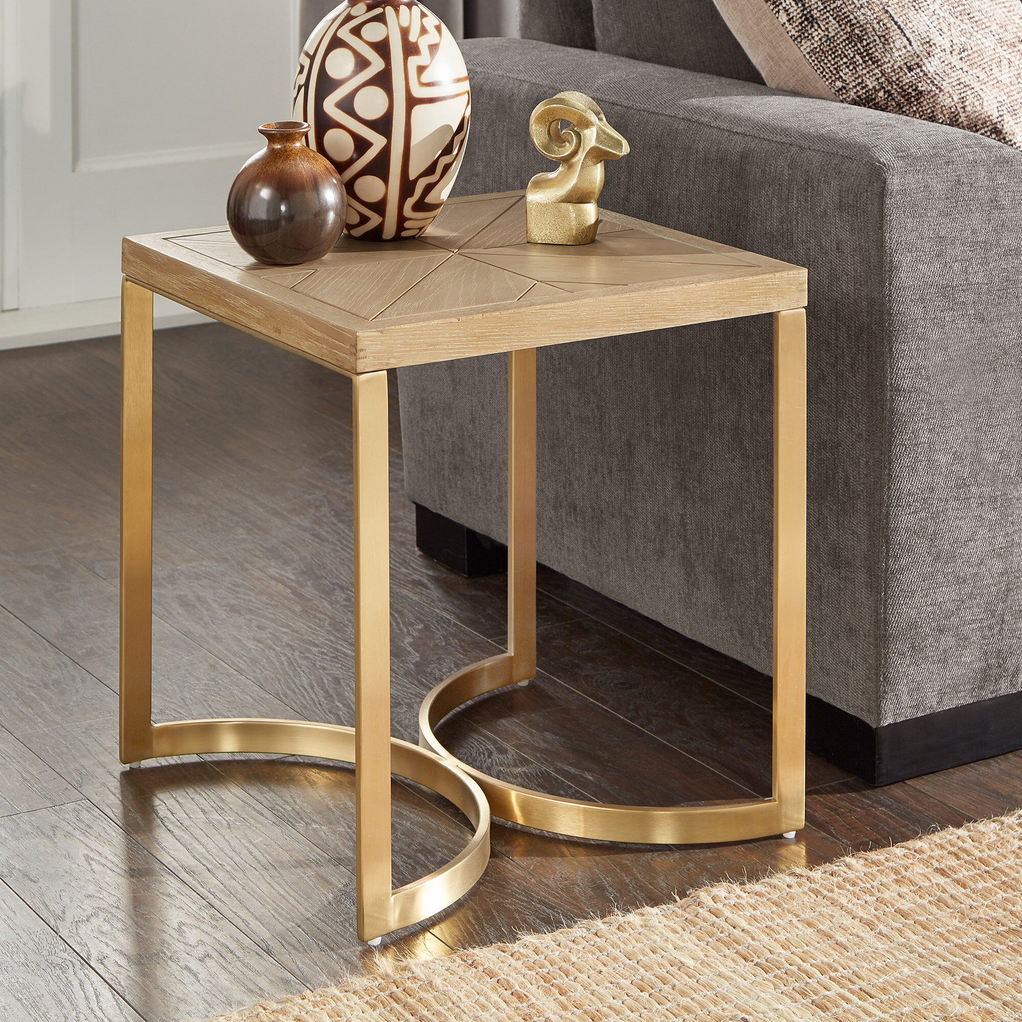 Beige Everly Quinn End Side Tables You Ll Love In 2021 Wayfair