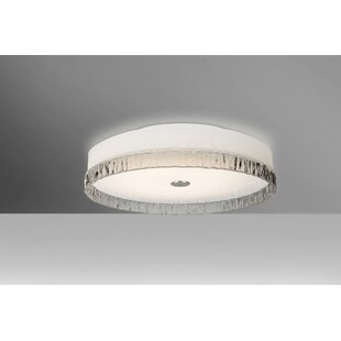 Latitude Run Camara 2-Light Flush Mount