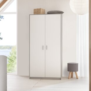 Classic Grey 2 Door Wardrobe By Schardt