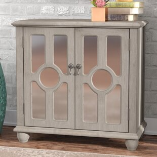Eladia Storage 2 Door Accent Cabinet by Bungalow Rose