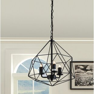 Wrought Studio Lillias 3-Lighted Geometric Pendant