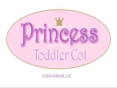 Princess Toddler Four Poster Configurable Bedroom Set