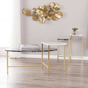 Arsenovic 2 Piece Coffee Table Set by Orren Ellis