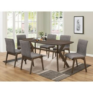 Union Rustic Poitra Upholstered Dining Chair (Set of 2)