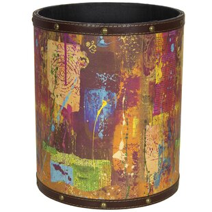 Oriental Furniture India by Gita 2.9 Gallon Waste Basket