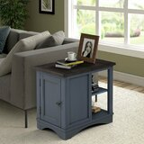 Sarita Block End Table with Storage by Gracie Oaks