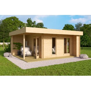 Cardiff 12.5 X 12.5 Ft. Tongue & Groove Summer House By Sol 72 Outdoor