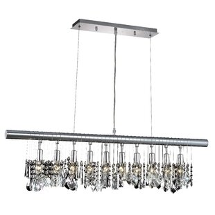 Willa Arlo Interiors Karlyn 10-Light Crystal Chandelier