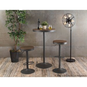 Baer 3 Piece Adjustable Pub Table Set by Latitude Run