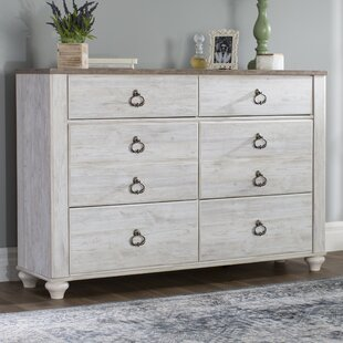 Theus 6 Drawer Double Dresser
