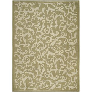 Herefordshire Indoor/Outdoor Area Rug In Olive/Natural