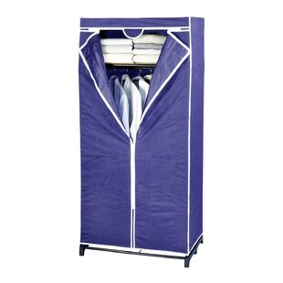 Melin 75cm Wide Mobile Wardrobe By Rebrilliant