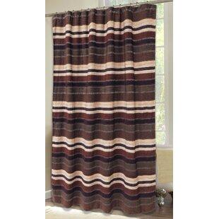Best Reviews Alaincourt Stripe Shower Curtain ByLoon Peak