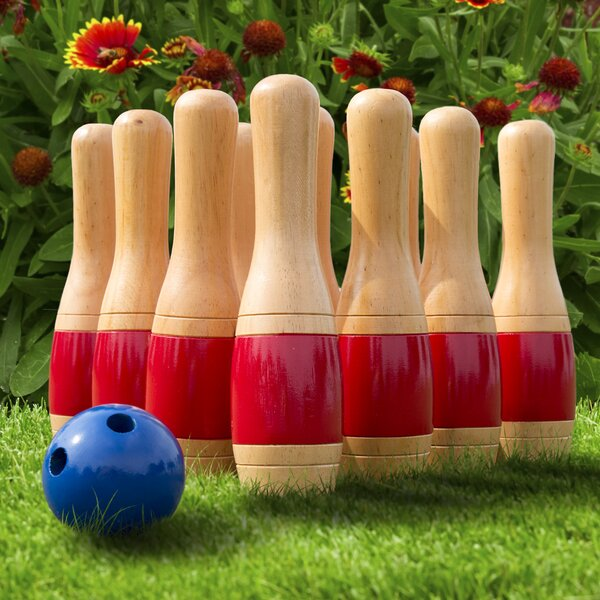 Miniature 10 Pin Bowling Set Indoor//Table Top//Beat The Boredom NEW