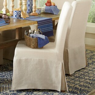 Birch Lane™ Neville Slipcovered Side Chairs (Set of 2)