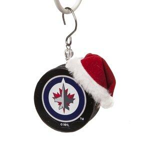 NHL Team Puck Ornament ByTeam Sports America