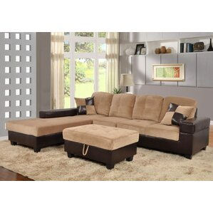 Violet Sectional by Beverly Fine Furniture
