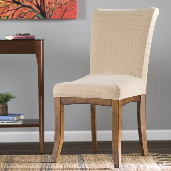 red barrel studio dining room chair slipcover & reviews | wayfair