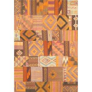 Patchwork Hand-Knotted Area Rug