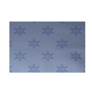 Comparison Flurries Decorative Holiday Print Blue Indoor/Outdoor Area Rug ByThe Holiday Aisle