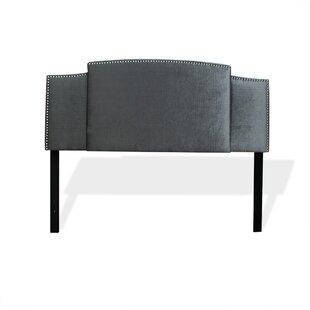 Shawnee Nailhead Expandable Upholstered Panel Headboard