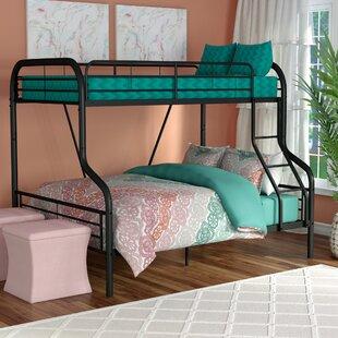 Tara Twin Over Full Slat Bunk Bed by Zoomie Kids 2019 Sale