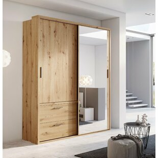 Gulbahar 2 Door Sliding Wardrobe By Ebern Designs