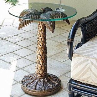 Alfresco Living Palm Tree Side Table