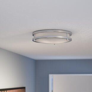 Ebern Designs Gabilan 2-Light Flush Mount