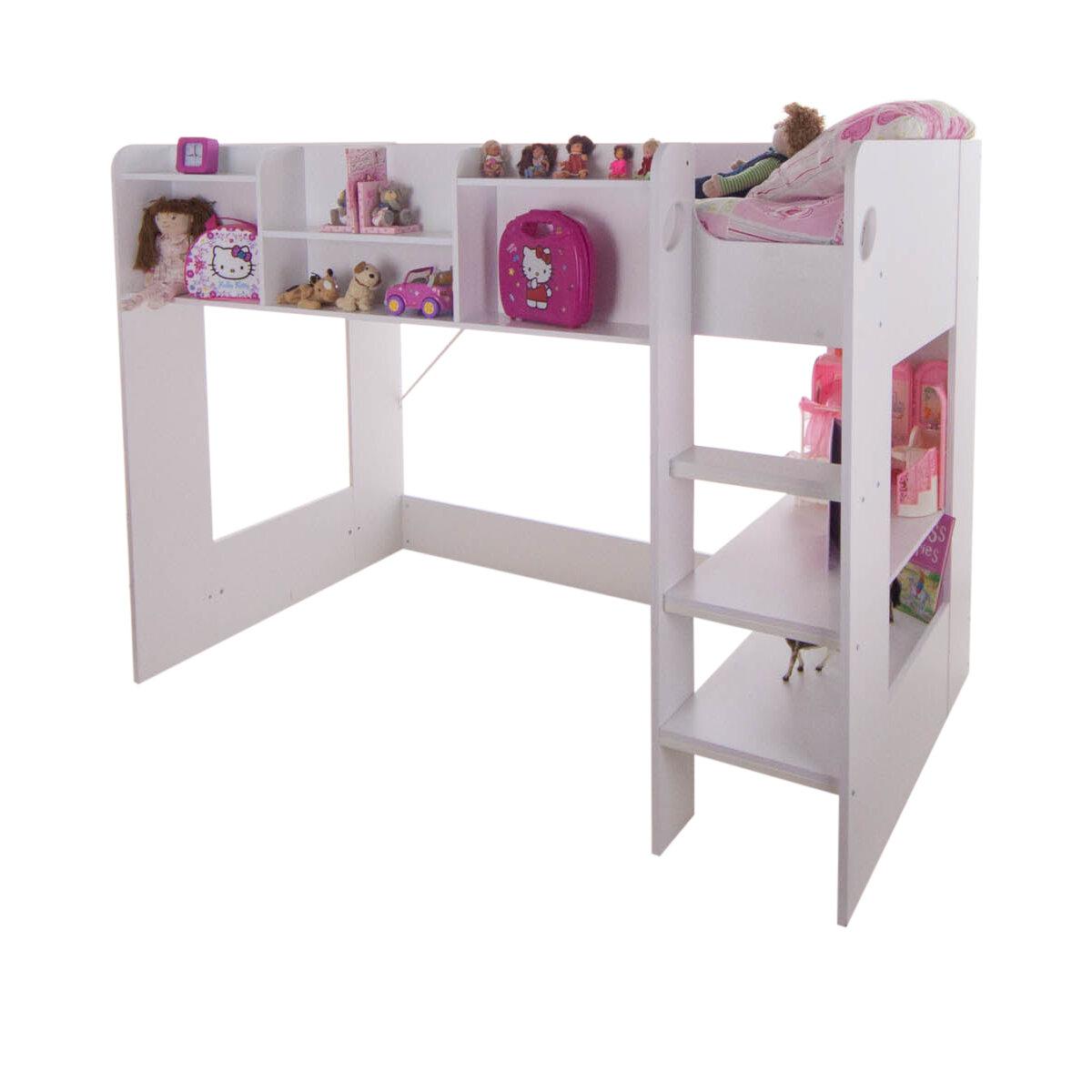 Home Loft Concept Wizard Junior High Sleeper Bed Frame | Wayfair.co.uk