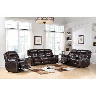 Henry Street Reclining Configurable Living Room Set Red Barrel Studio