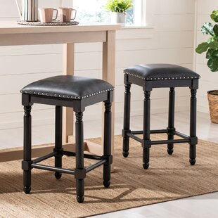 Hertzog Counter Stool by Charlton Home