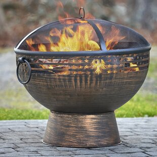 Good Directions Steel Wood Burning Fire Pit