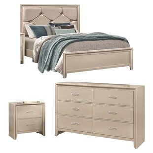 Cirillo Upholstered Panel Configurable Bedroom Set