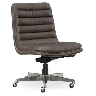 Hooker Furniture Wyatt Home Office Mid-Back Leather Office Chair