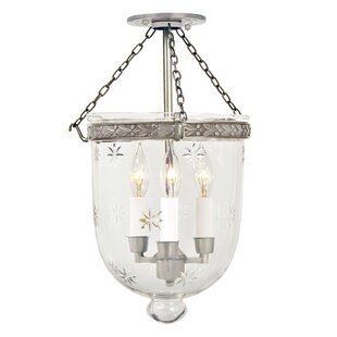 Alcott Hill Hillary 3-Light Urn Pendant