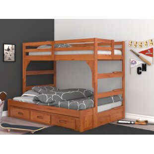 Hermitage Twin over Full Bed with Drawers