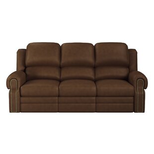Inexpensive Hilltop Leather Reclining Sofa by Westland and Birch Reviews (2019) & Buyer's Guide