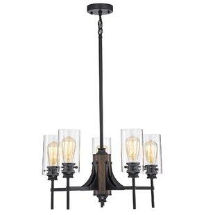 Gracie Oaks Hamblen 5-Light Candle Style ..