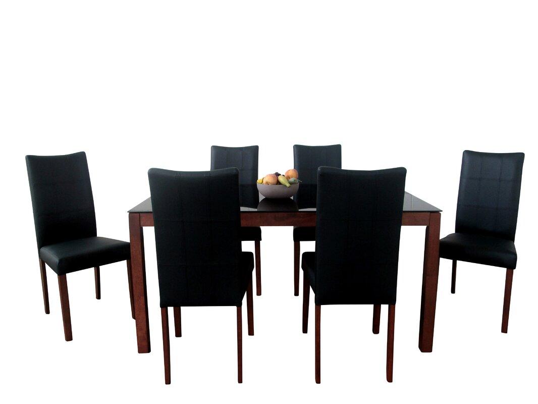 Sagittarius 7 Piece Dining Set