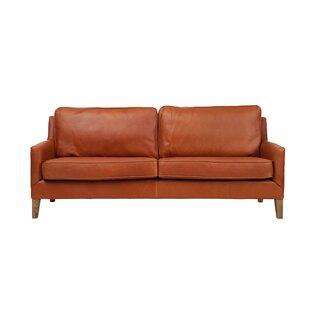 Schlegel Apartment Leather Loveseat