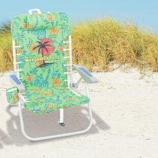 Margaritaville Lace-Up Reclining Beach Ch..